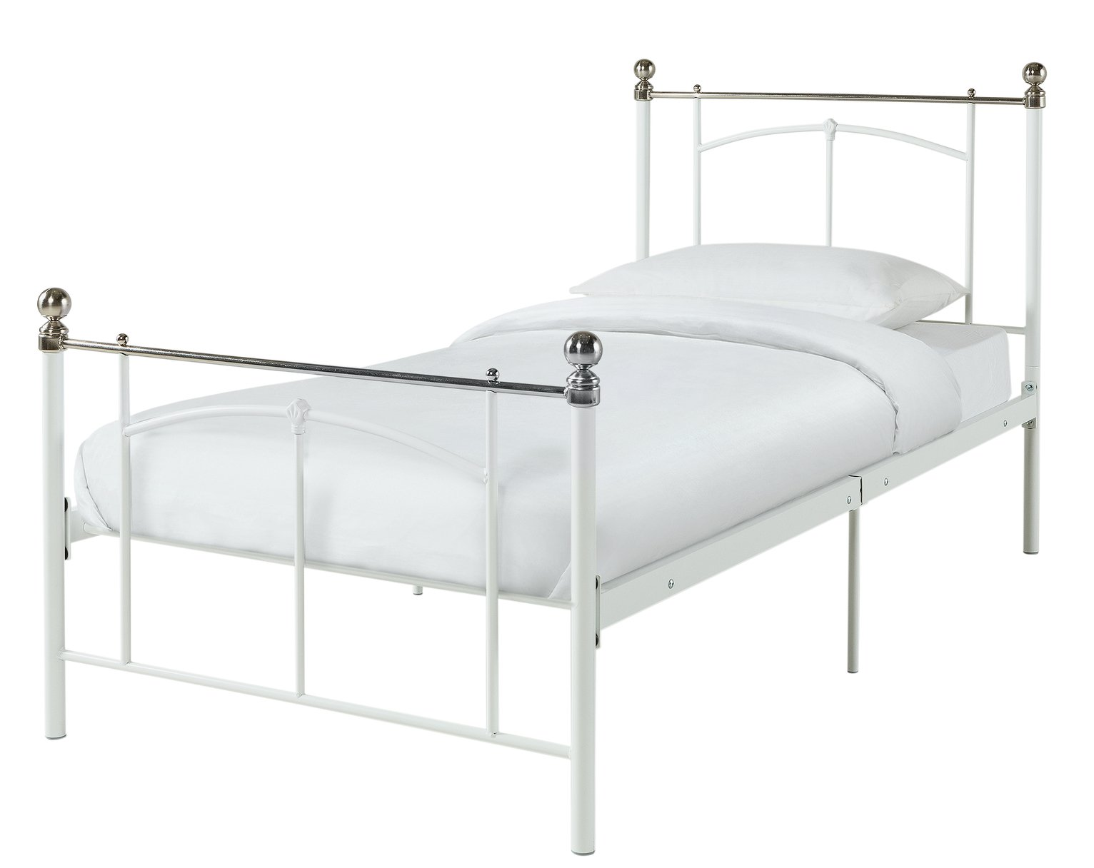 Argos - Yani - Single - Bed Frame - White