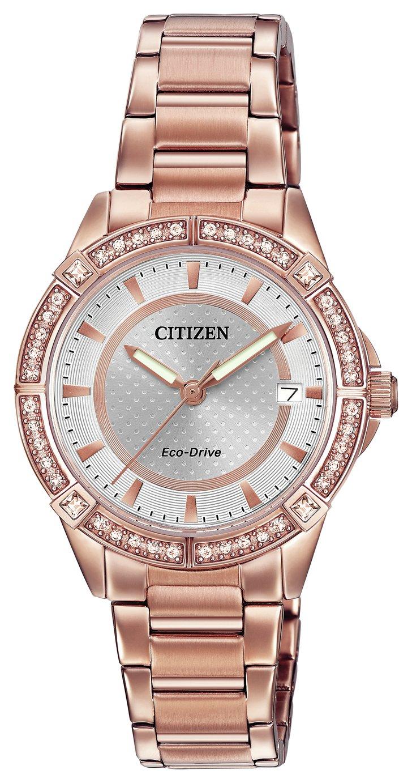 Citizen - Ladies Eco-Drive Stainless Steel Bracelet - Watch