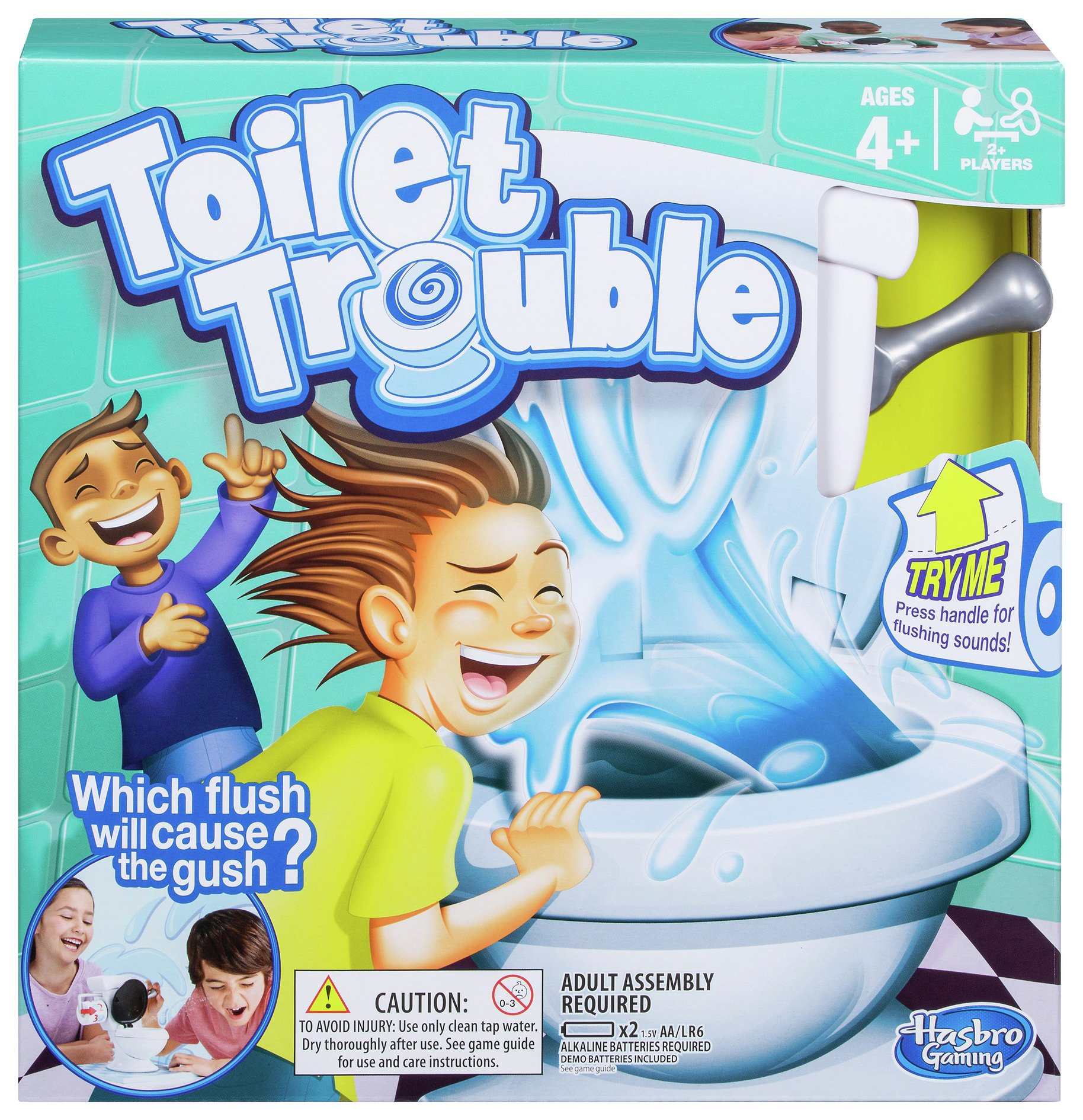 Toilet Trouble From Hasbro Gaming