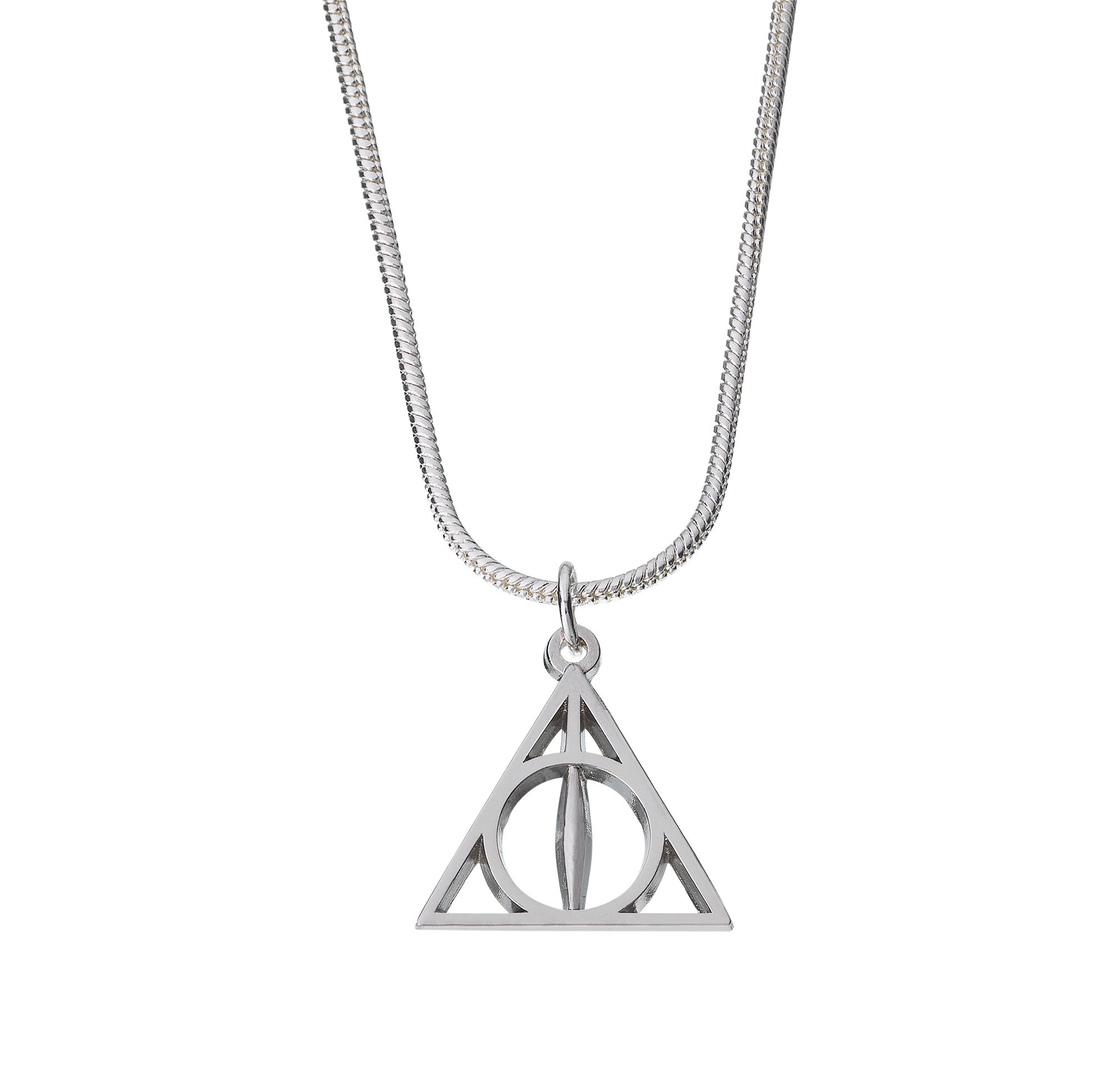 Harry Potter Silver Colour Deathly Hallows Pendant