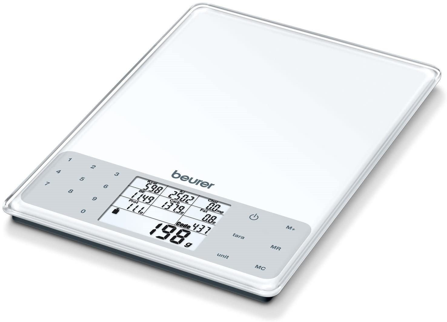 Beurer DS61 Nutritional Analysis Kitchen Scale
