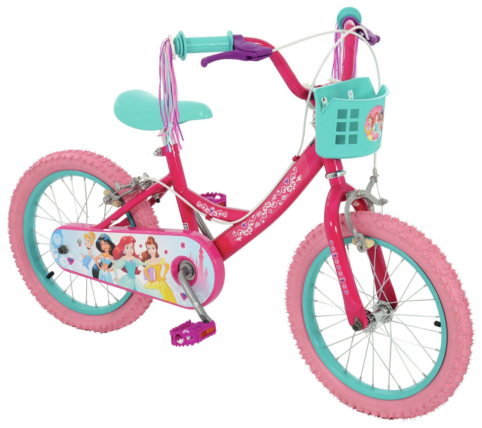 Disney Princess 16 Inch Kids Bike - Pink