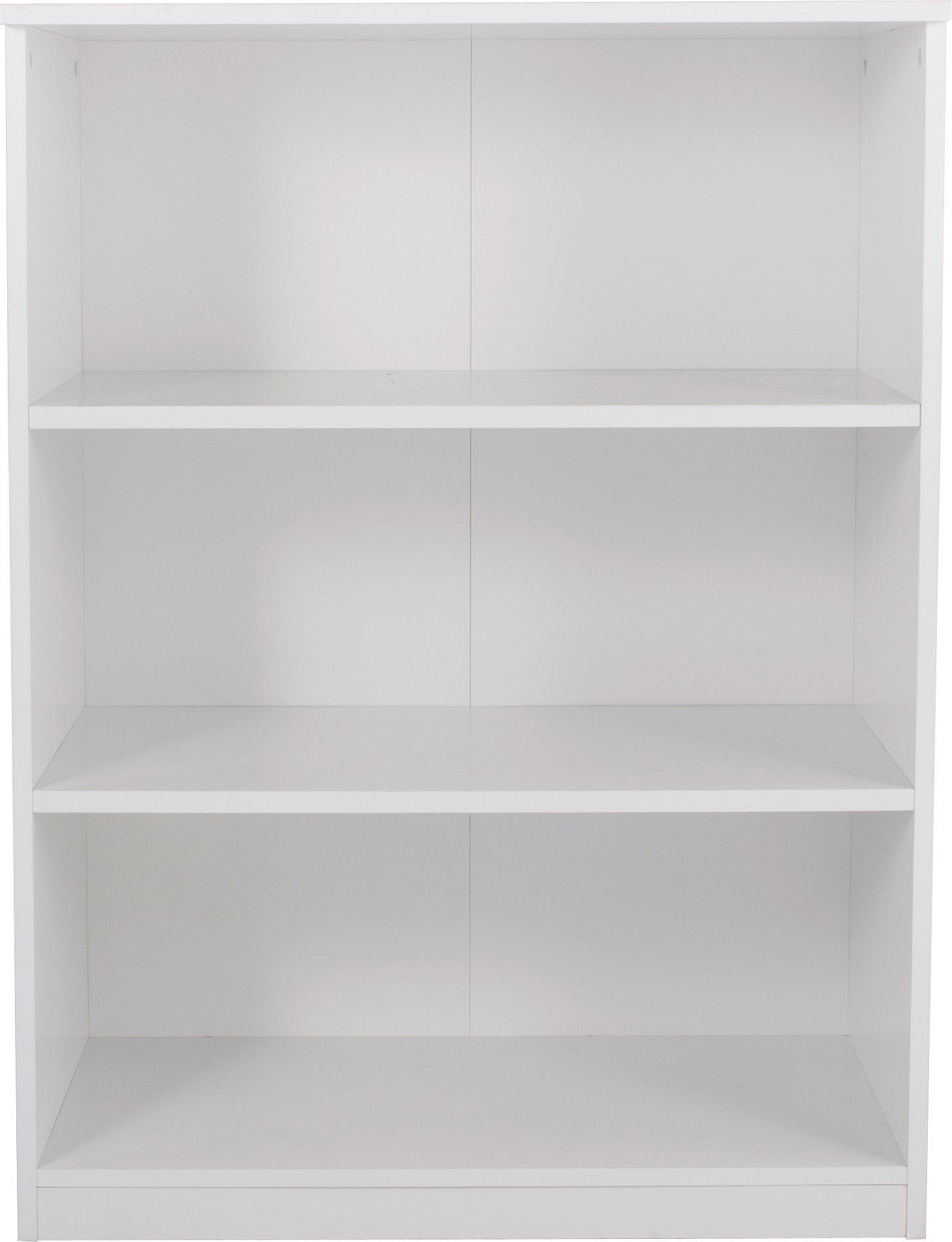 Argos Home Pagnell White 3 Shelf Bookcase