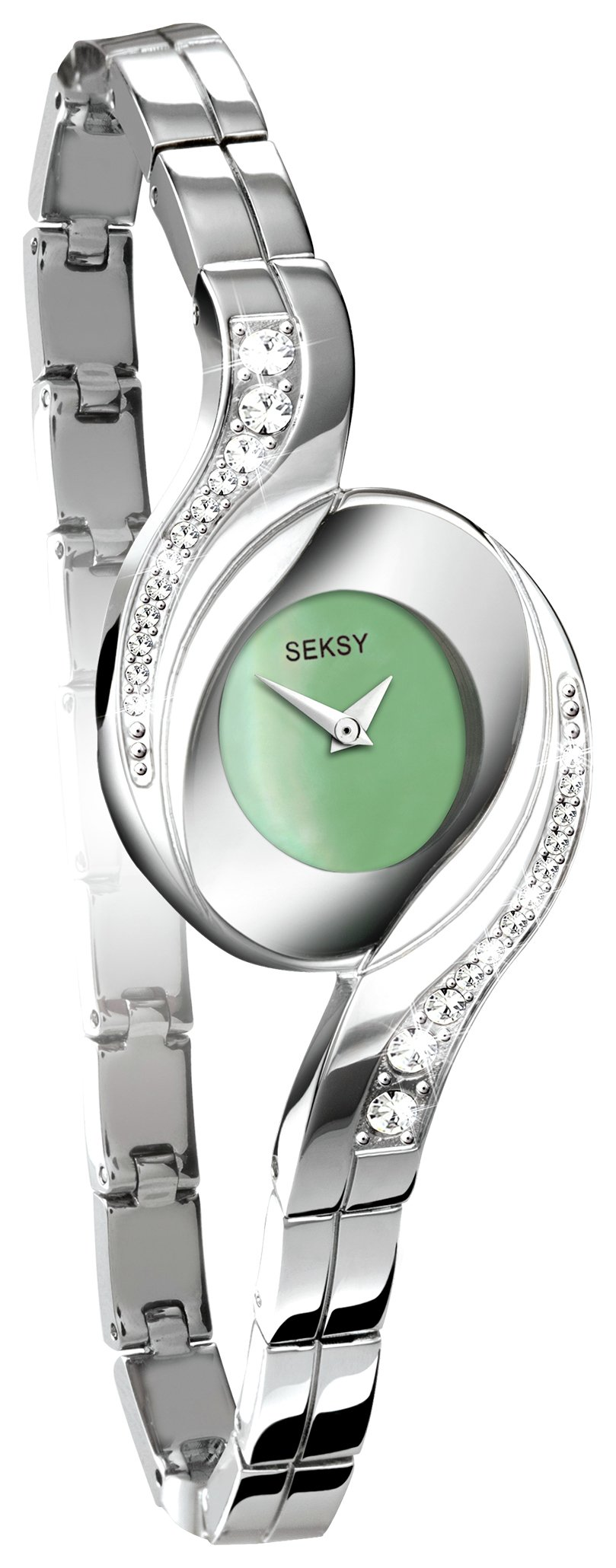Seksy Ladies' 4881 Green Dial Bracelet Watch
