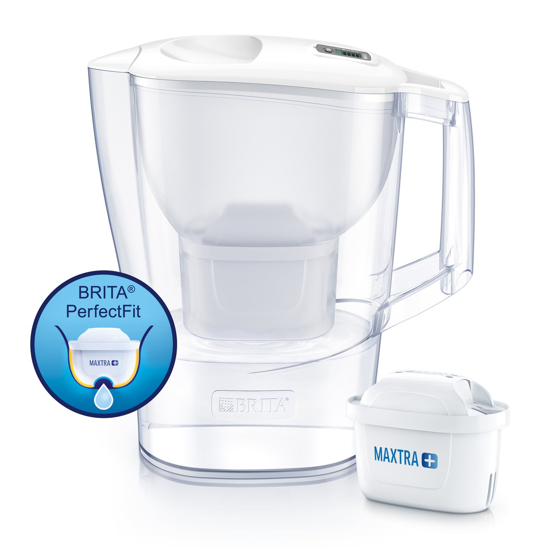 Brita Aluna Water Filter Jug - Cool White