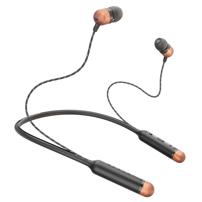 Marley Smile Jamaica In-Ear Wireless Headphones - Black