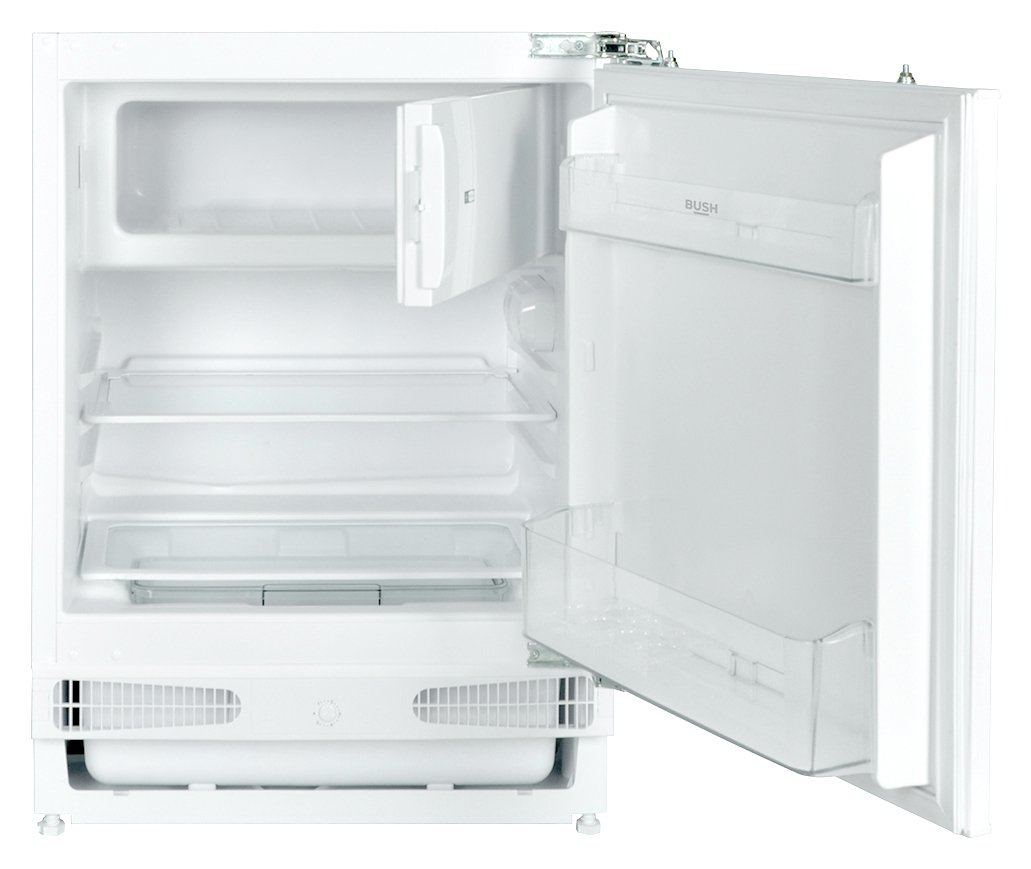 Image of Bush BUCFR6082 Under Counter Integrated Fridge - White
