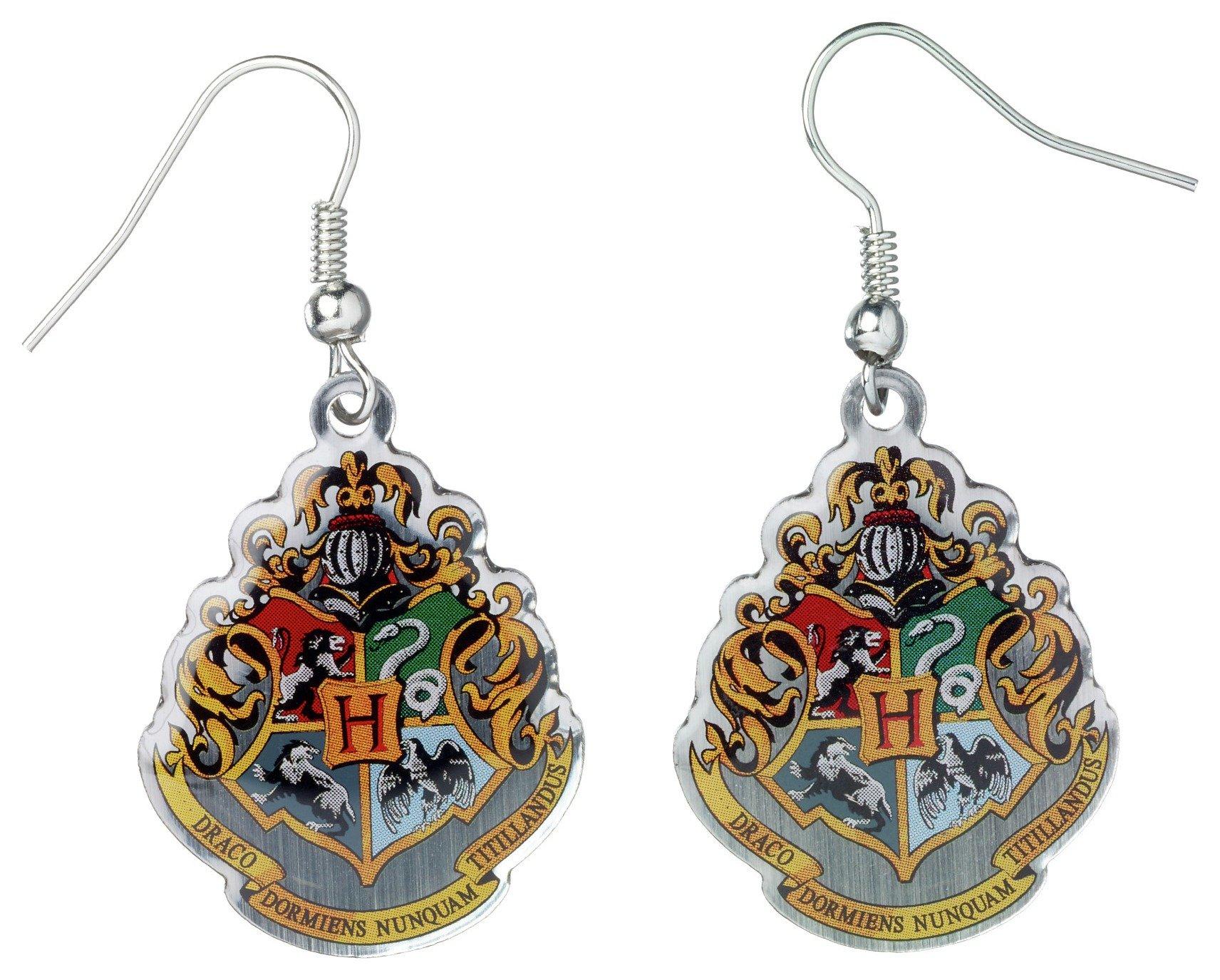 Harry Potter Hogwarts Crest Earrings