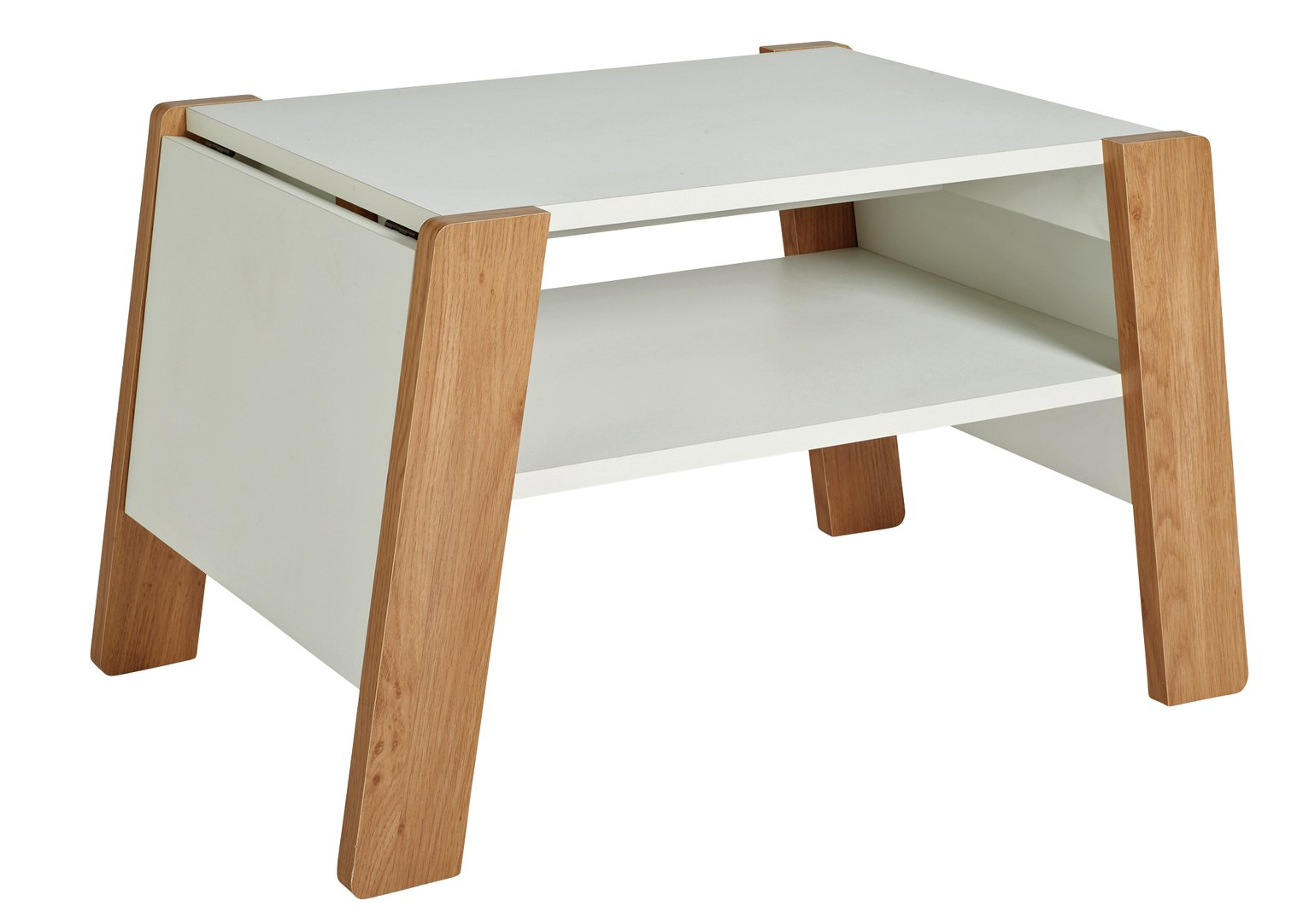 Sale On Argos Home Zander Extendable Coffee Table White At
