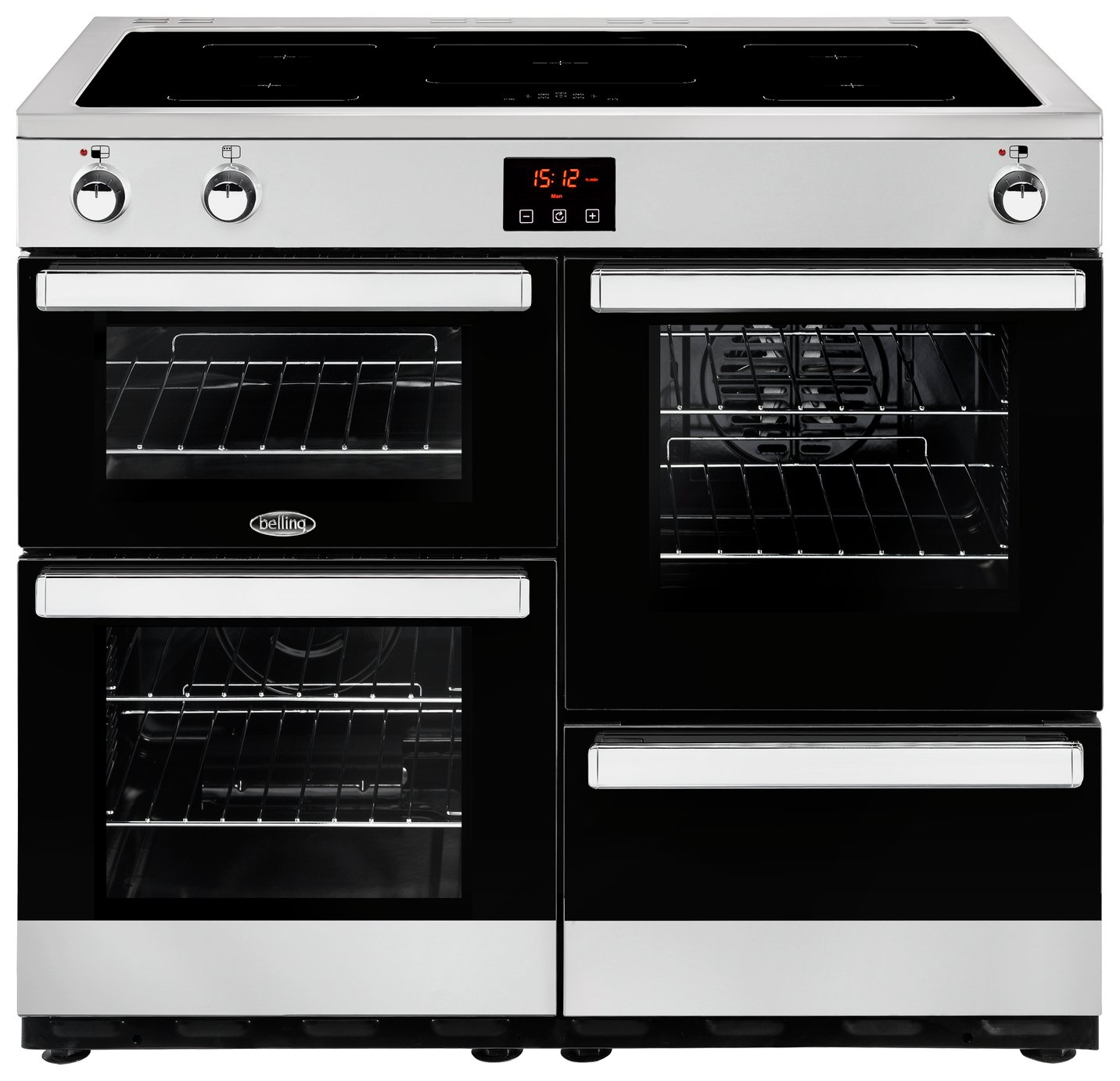 Belling Cookcentre 110EI Electric Range Cooker - S/ Steel