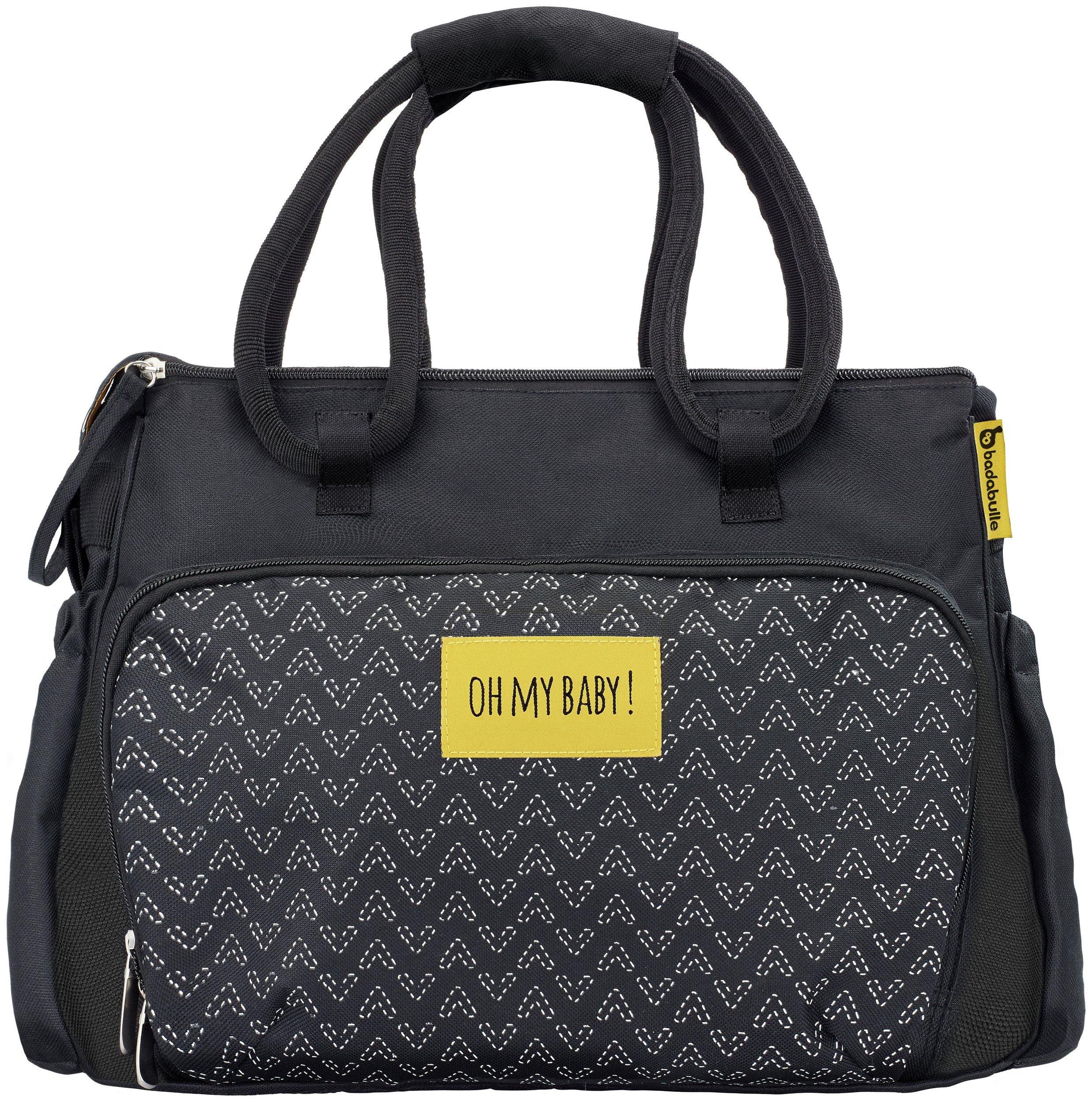 Badabulle Boho Changing Bag - Black