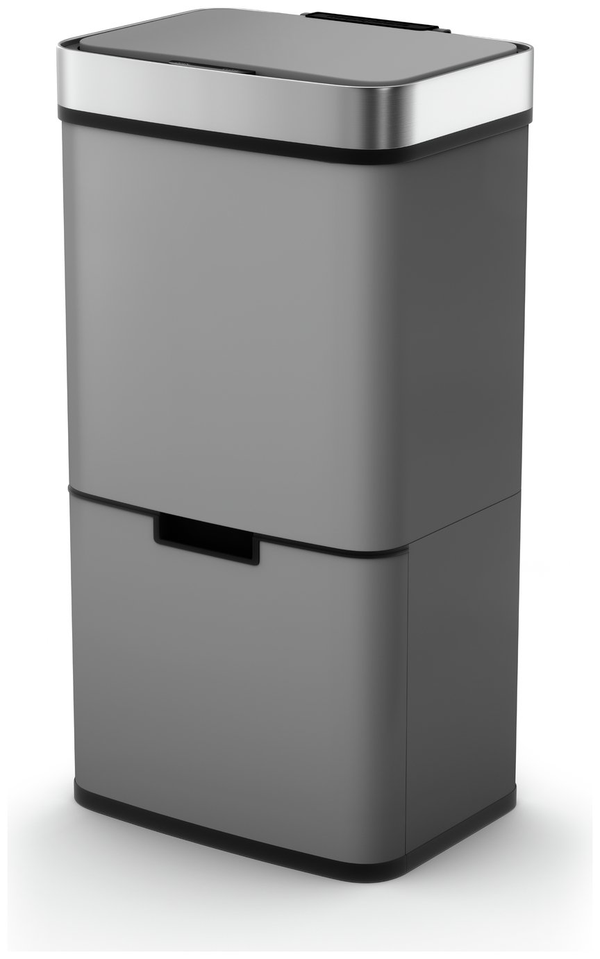 Morphy Richards 75 Litre Recycle Bin - Titanium