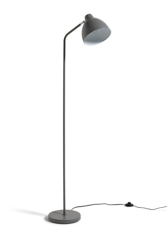 Argos Home Morlie Floor Lamp - Matt Grey
