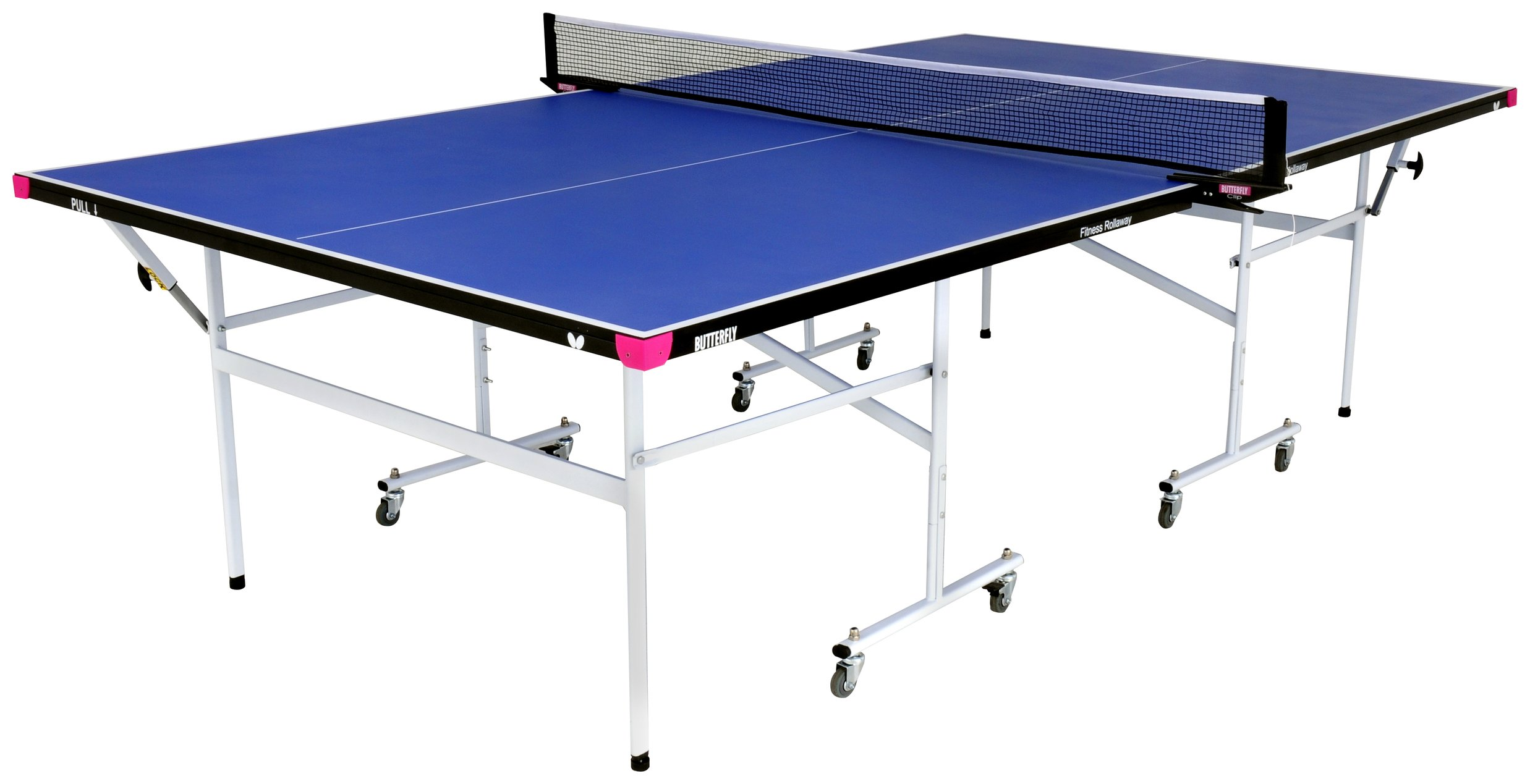 Butterfly Fitness Blue Indoor Table Tennis Table