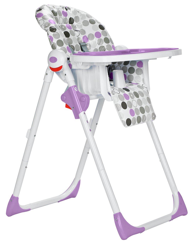 Cuggl Plum Deluxe Highchair