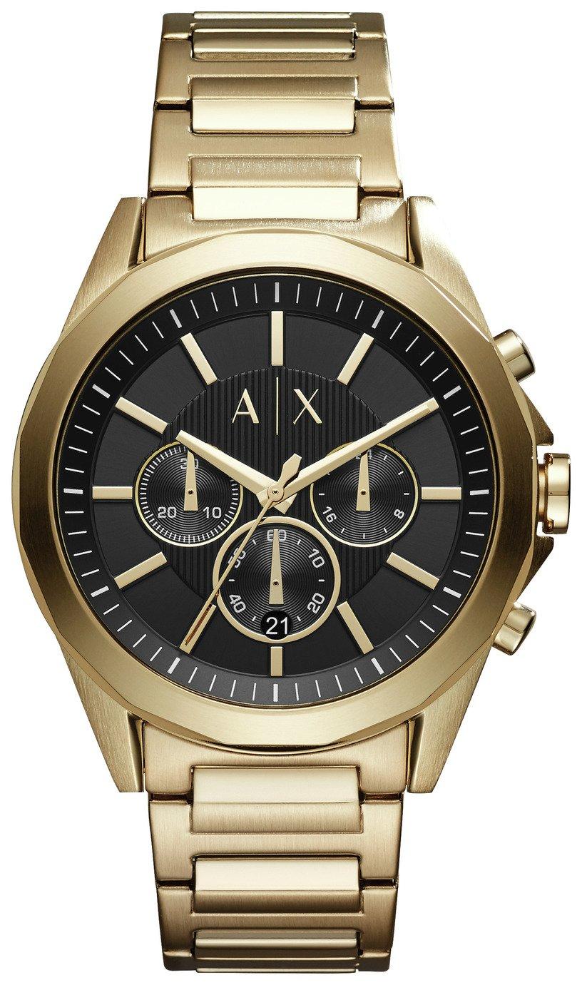 Armani Exchange AX2611 Men's Gold Tone Bracelet Watch