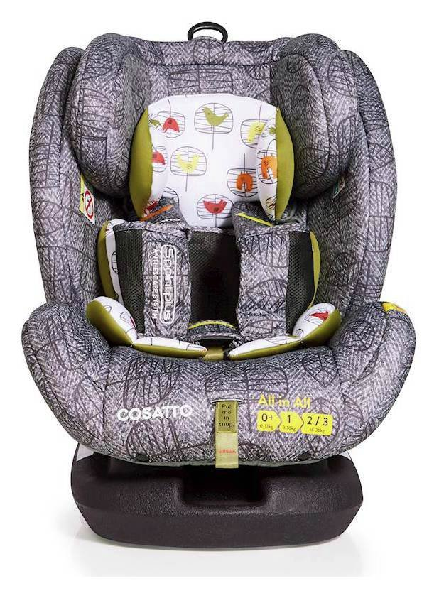 Cosatto AllinAll Groups 1-2-3 ISOFIX Car Seat - Dawn Chorus