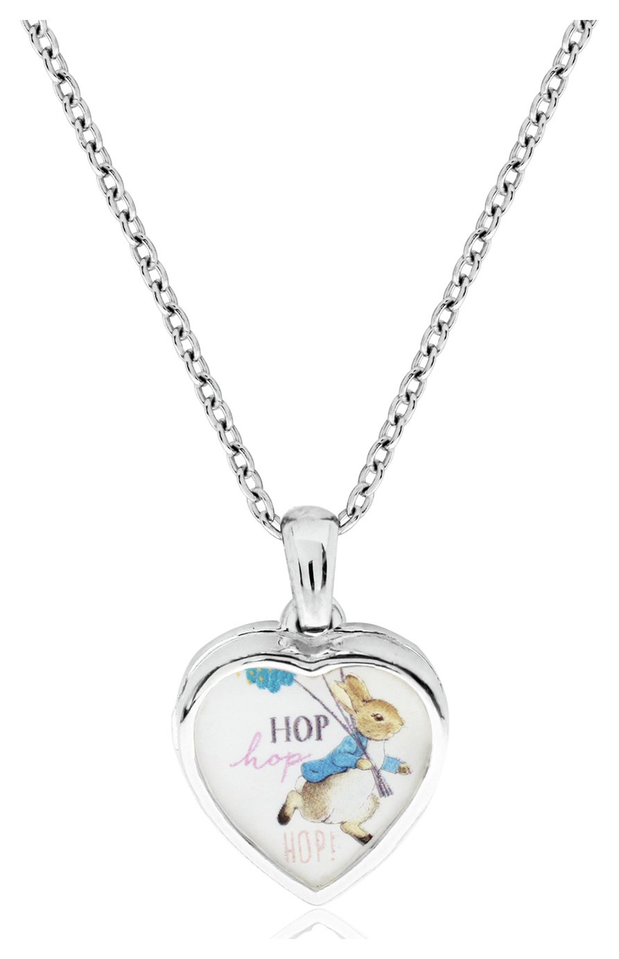 Beatrix Potter Sterling Silver Peter Rabbit Locket