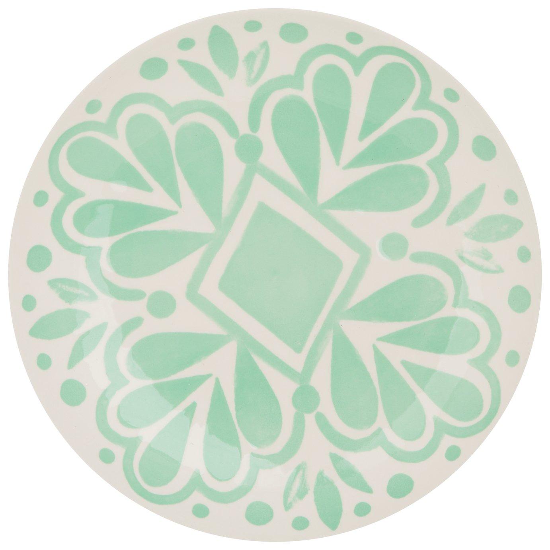 Sainsbury's Home Ceramic Plate - Green