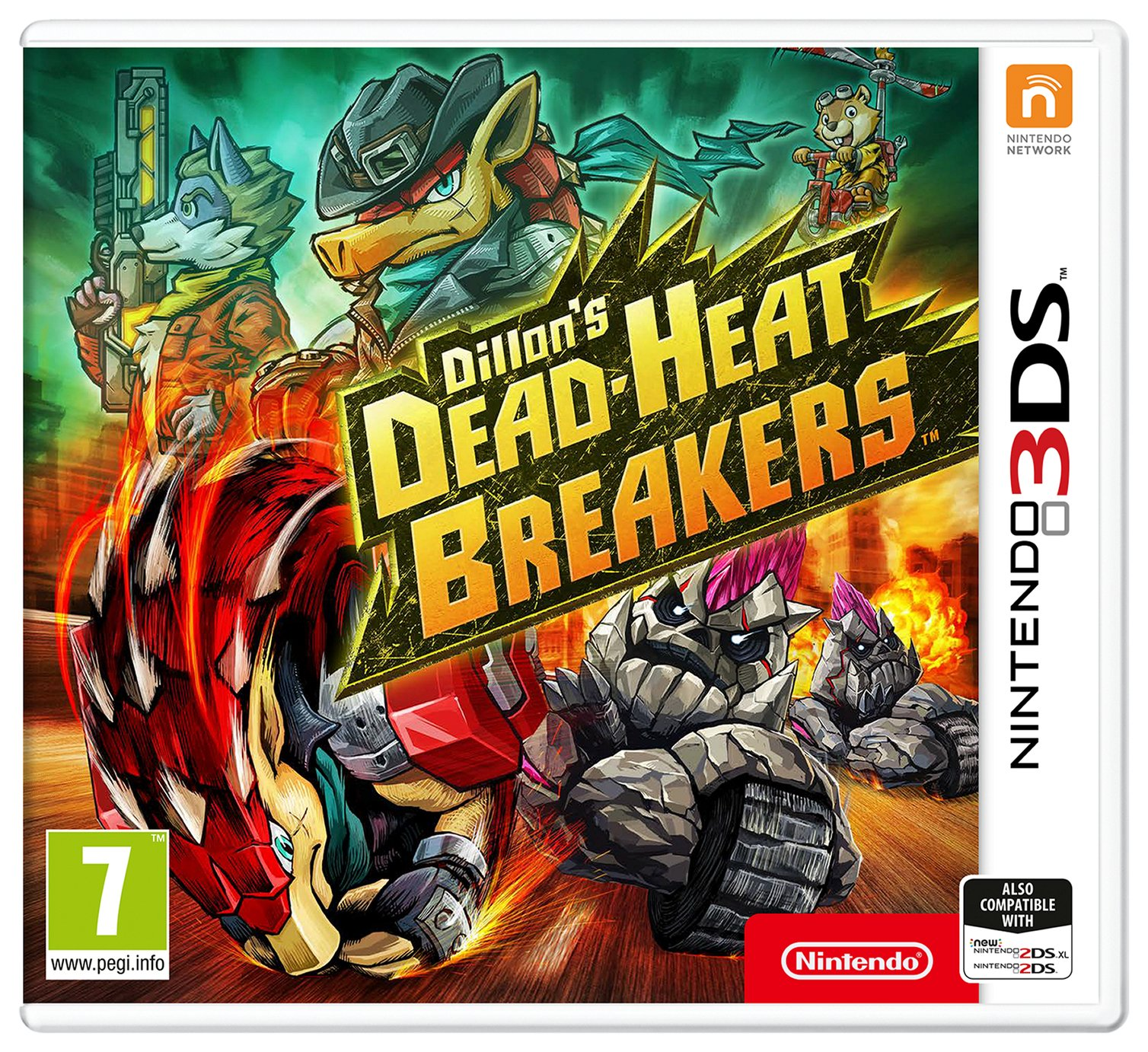 Dillion's Dead-Heat Breakers Nintendo 3DS Game