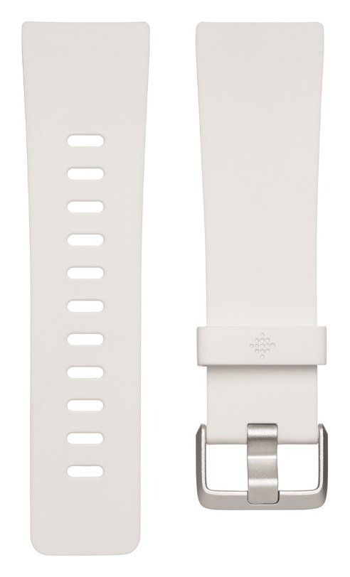 Fitbit Versa Large Accessory Band - White