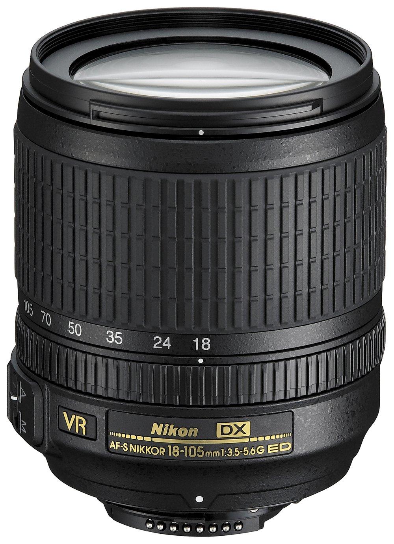 Nikon AF-S DX NIKKOR 18mm-105mm f/3.5-5.6G VR Lens