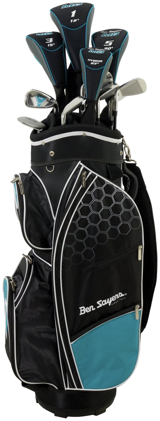 Ben Sayers Youth And Ladies' M8 Golf Set - Turquoise