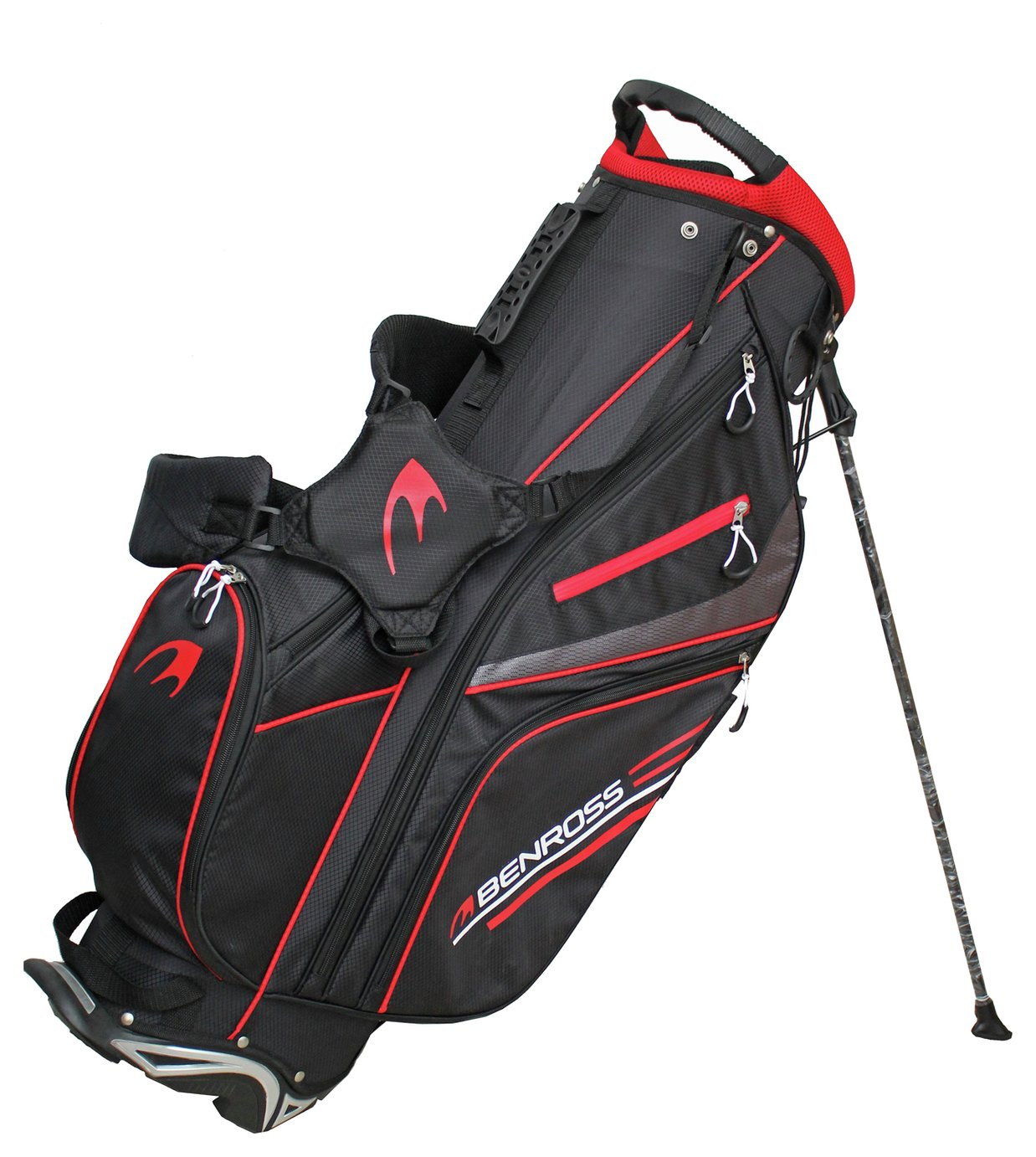 Benross Golf HTX Compressor Stand Bag - Black