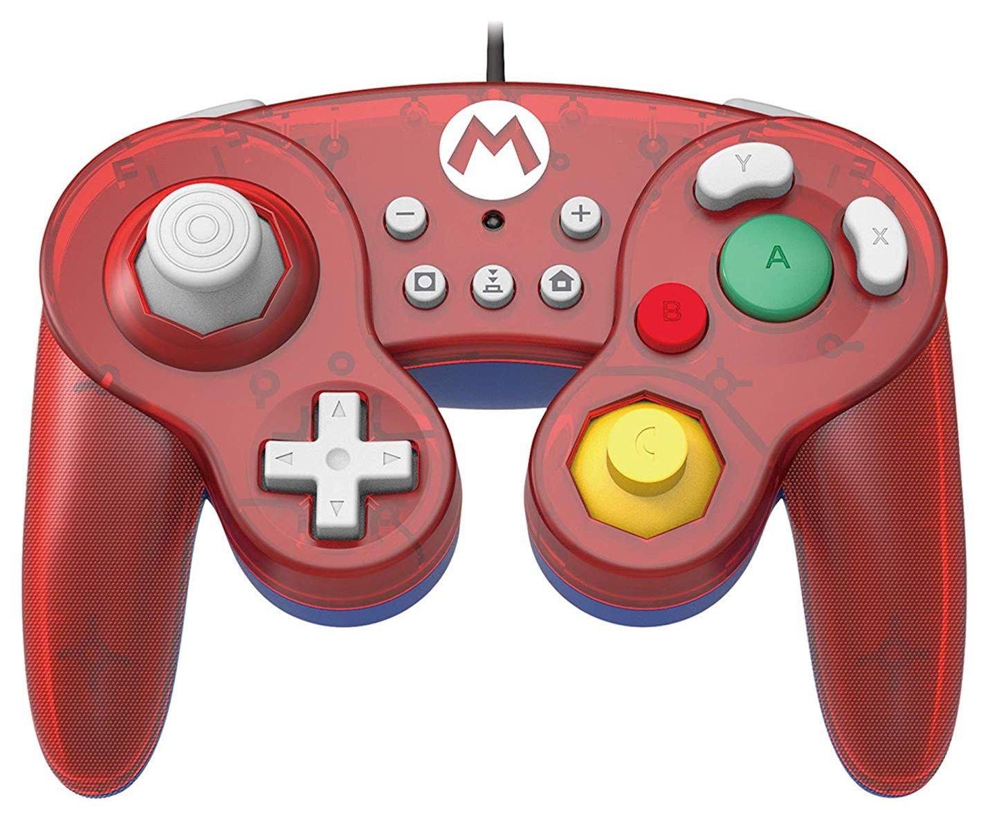 Super Smash Bros Nintendo Switch Gamepad Controller - Mario