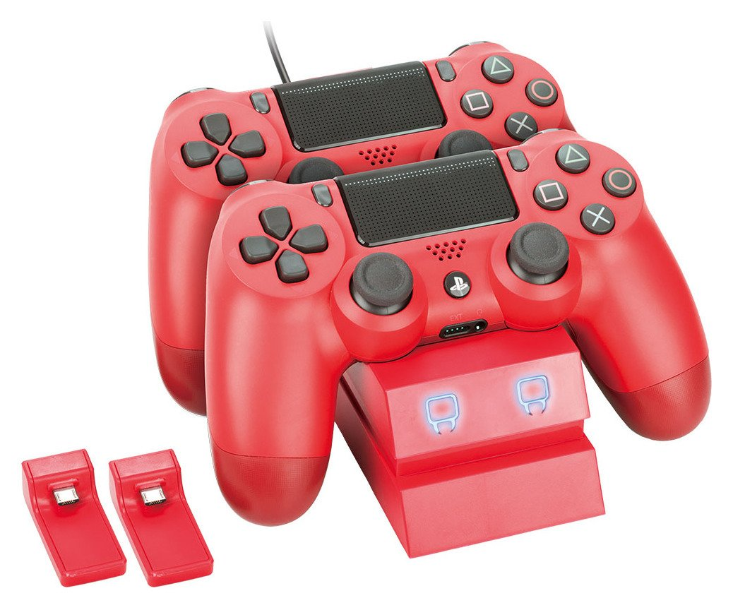 Venom Twin Docking Station for PS4 - Red