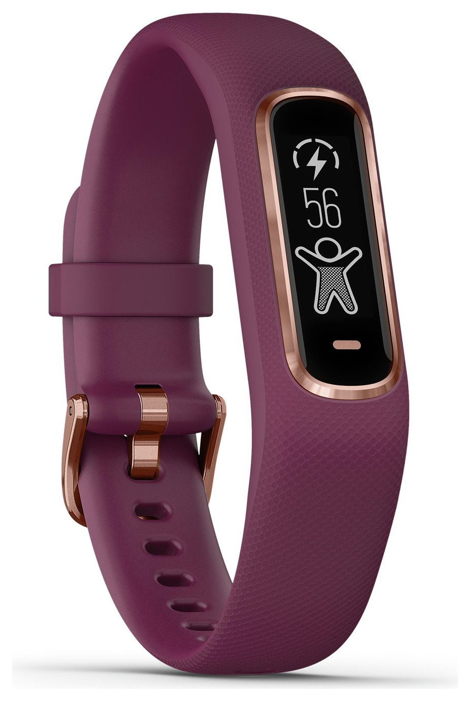Garmin Vivosmart 4 Small Smart Watch - Berry/ Rose Gold