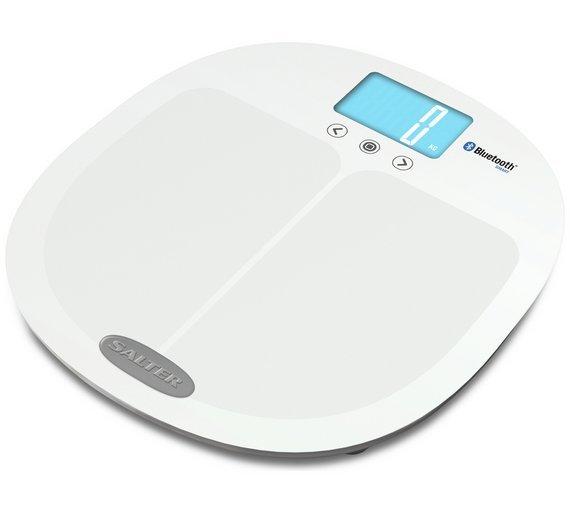 Salter Bluetooth Smart Body Analyser Scale - White
