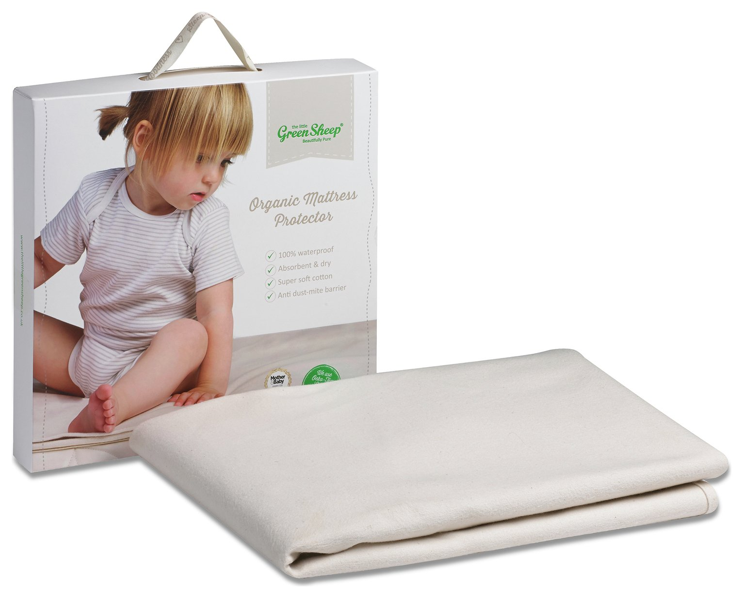 The Little Green Sheep Cot Bed Mattress Protector
