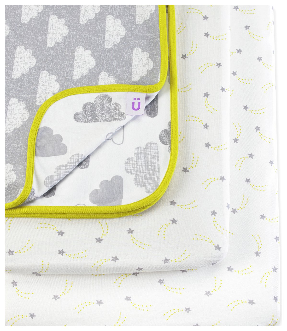 Snuz 3 Piece Crib Bedding Set - Cloud 9