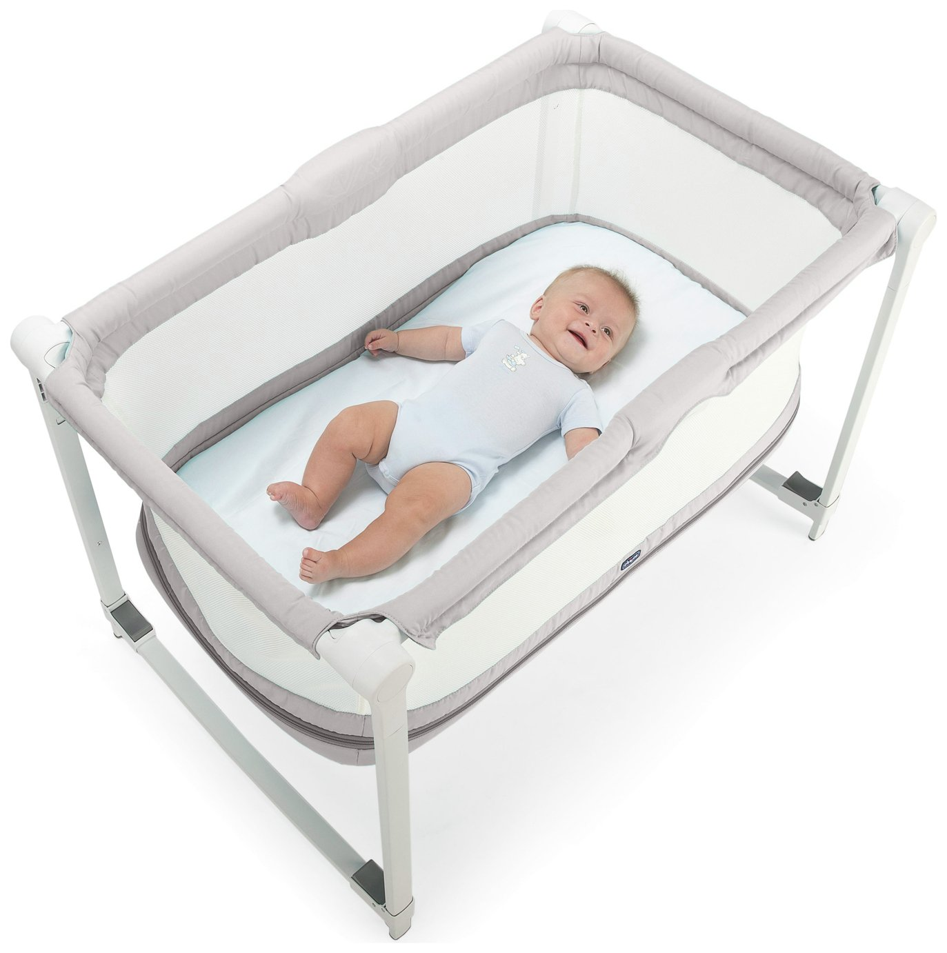 Chicco Zip n Go Travel Crib - Glacial
