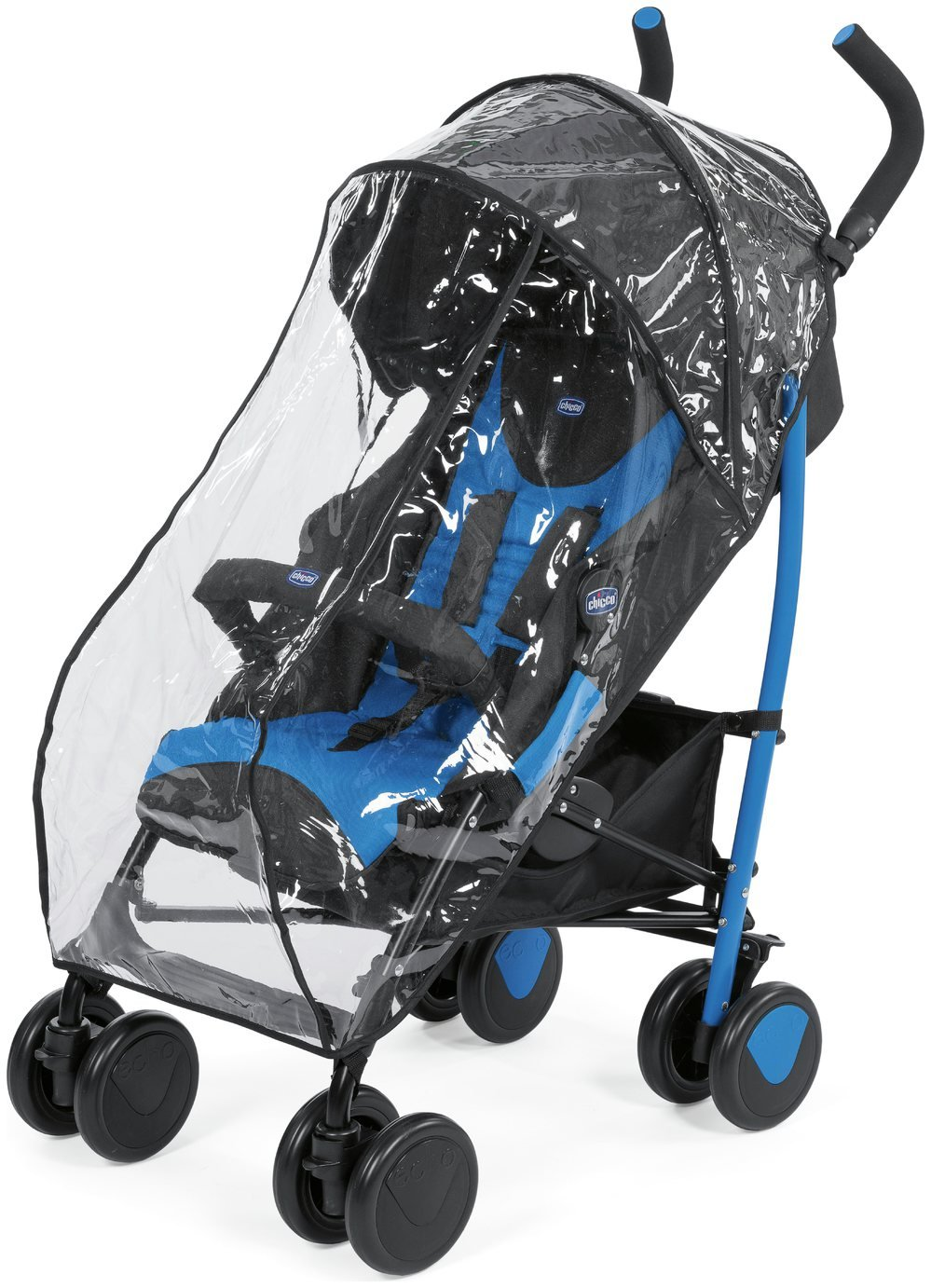 Chicco Echo Stroller - Blue