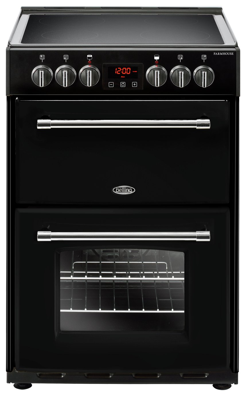 Belling Farmhouse 60E Electric Cooker - Black