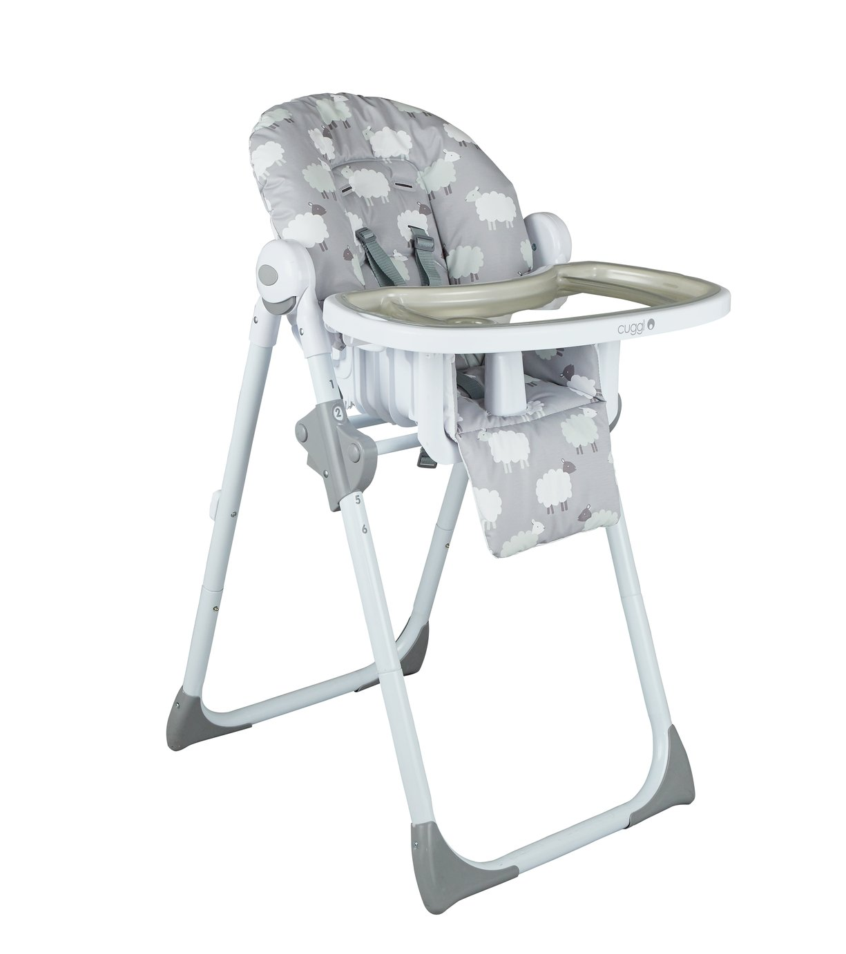 Cuggl Deluxe Highchair - Sheep