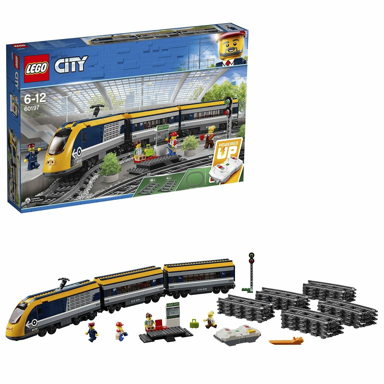 LEGO City Passenger RC Train Toy Construction Set - 60197