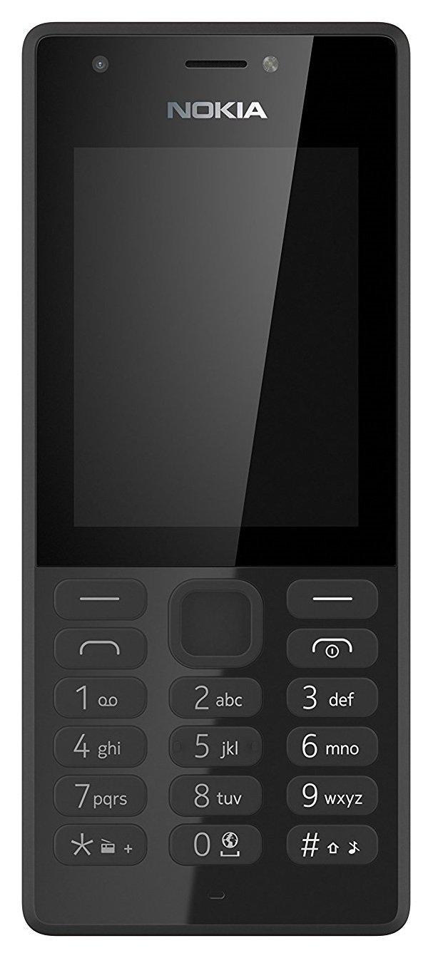 SIM Free Nokia 216 Mobile Phone - Black