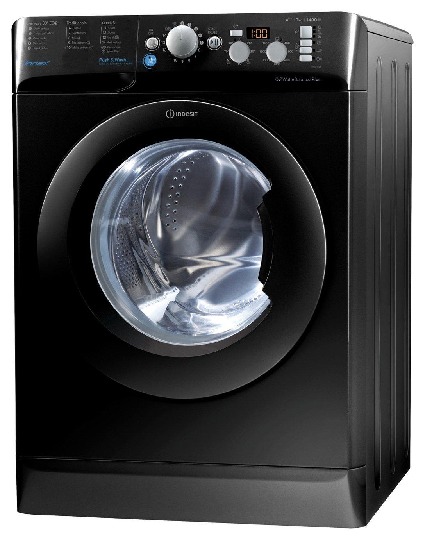 Indesit BWD71453KUK 7KG Washing Machine - Black