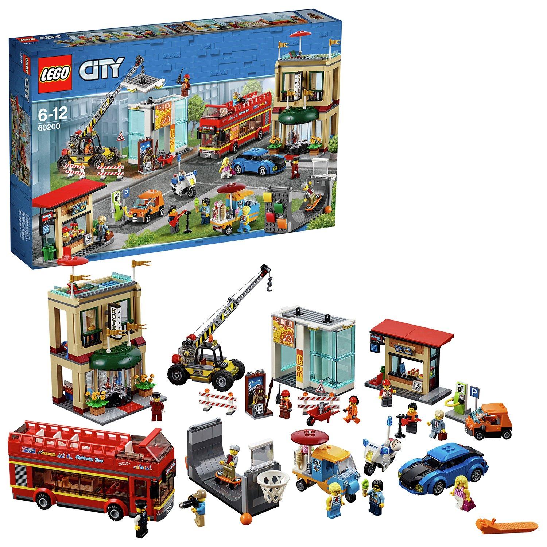 LEGO City Capital Toy Town Construction Set - 60200