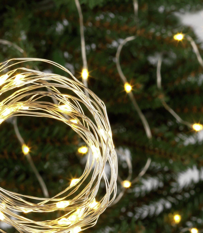 Argos Home Set of 120 LED String Lights - Warm White