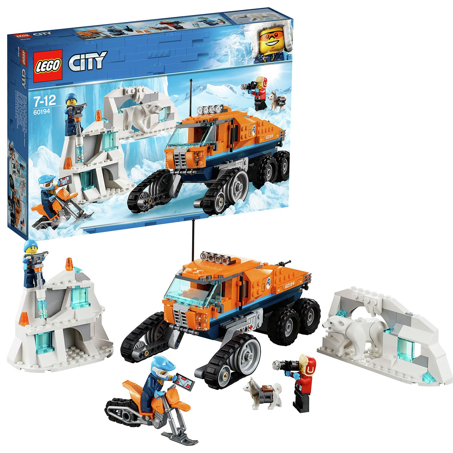 LEGO City Expedition Arctic Scout Toy Truck - 60194