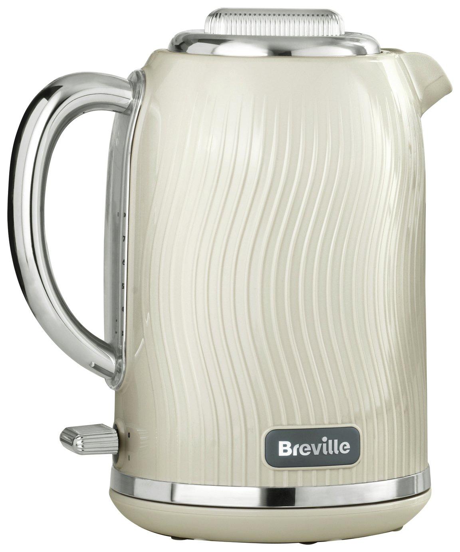 Breville VKT091 Flow Illuminating Kettle - Cream