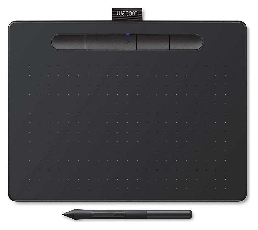 Intuos Comfort Plus PB Medium Graphics Tablet - Black