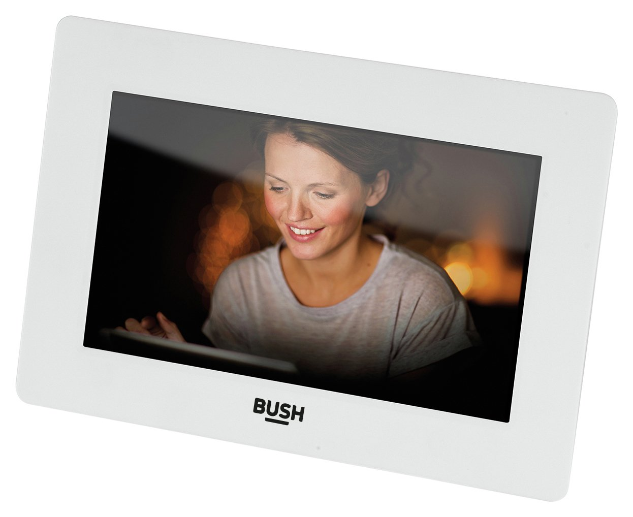 Bush Digital Photo Frame 7 Inch - White