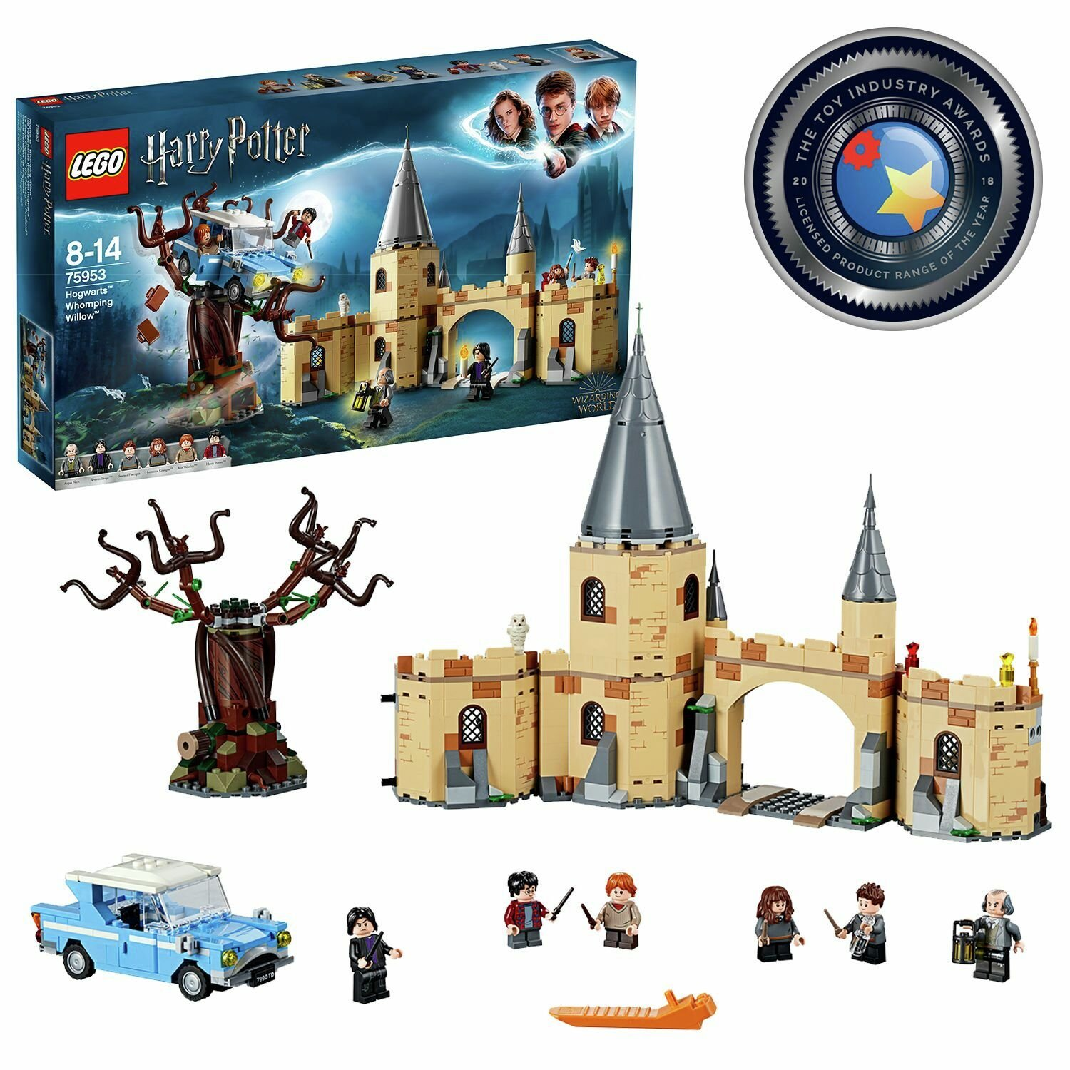 LEGO Harry Potter Hogwarts Whomping Willow Toy - 75953