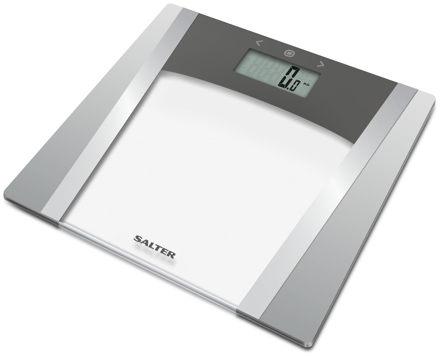 Salter Large Display Body Analyser Scale - Glass