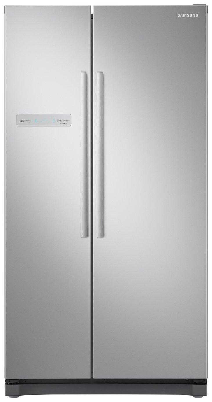 Samsung RS54N3103SA/EU American Fridge Freezer - Graphite